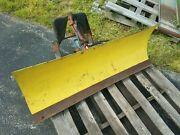 John Deere 50 Front Blade Off 400 Landg Tractor Used With 2 Hydraulic Cylinders