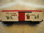 48319 American Flyer 1993 Christmas Boxcar New In Box