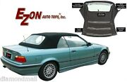 Bmw E36 Convertible Soft Top W Retainers And Plastic Window Stayfast Cloth 94-99