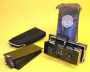 Zulauf Polyscop 1910 - Antique Stereo Camera In Very Good Condition Ica Zeiss