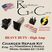 Battery Charger Repair Kit Heavy Duty For Club Car 48volt Powerdrive2 22110