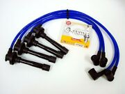 88-91 Honda Prelude Si Dohc B20a5 B21a1 Spark Plug Wires And Ngk Platinum Blue