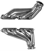 Big Block Chevy 1964 - 1967 Chevelle Silver Coated Exhaust Headers Bbc Bb7-sec