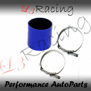Blue 2.75 70mm 3-ply Silicone Coupler Hose Turbo Intake Intercooler Chev2