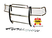 1994-2001 Dodge Ram 1500 / 94-02 2500 3500 Brush Grill Guard In Stainless Steel