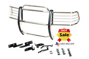 2004-2006 Dodge Durango Chrome Brush Grille Grill Guard In Stainless Steel
