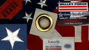 Commercial Grade- Valley Forge American Flag 4and039x6and039 Sewn Koralex Iiandtrade Made In Usa