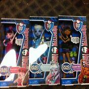 Lot New Nip Monster High Dead Tired Clawdeen Abbey Bominable Drculaura Dolls