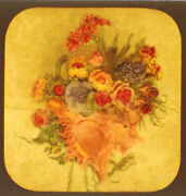 Flower Bouquet Stereoview Tissue--tinted When Lit By Emma Edwards Baltimore
