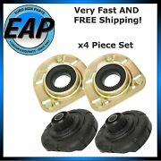 For Volvo S60 S80 V70 Xc70 Front Strut Mount And Spring Seat Bushing X4 Pc Set Kit