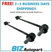 2 Pcs Ctr Stabilizer Sway Bar Link Front For 10-15 Hyundai Kia 54830-2s200