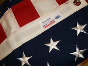 Valley Forge American Flag 3and039x5and039 Sewn Koralex Ii -proudly Made In The Usa