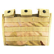 New Molle Dcu Side By Side .223 Triple Three Mag Utility Pouch Military Tan Camo
