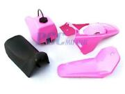 Yamaha Pw80 Pw Coyote 80 Tank Seat Plastic Fender Kit W/ Chain Guard Pink M Ps65