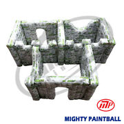 Mighty Paintball Air Bunker Inflatable Bunker - 3 Box Shape Mp-sb-wp03