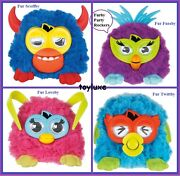 Furby Party Rockers Easter Creature Doll Toy Rare Scoffby Fussby Loveby Twittby