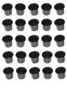 Lot Of 100 Aftermarket Princecraft 2 7/8 Inch Black Plastic Boat Cup Holders