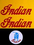 Red Indian Mini Mm5a M5a Tank Decal And Mag Cover Decal Set 50cc 50 Cc Early Model