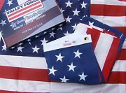Valley Forge Us American Flag 3and039x5and039 Best Cotton -commercial/heirloom Grade Usa