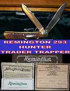 Remington R293 Bullet Trapper Hunter Trader Trapper Mint Condition Box And Papers