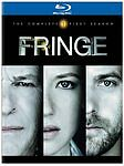 Fringe Complete 1st First Season 1 One Brand New Blu-ray Set
