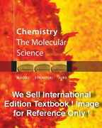 New Chemistry The Molecular Science 4e John W. Moore Jurs 4th Paperback Edition