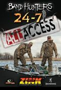 Zink 24-7 Duck And Goose Calls Band Hunters 5 All Access Dvd
