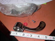 New Old Stock Hot And Cold Chrome Plated Brass Faucet Handles / Levers