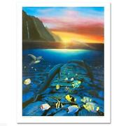 Robert Wyland   Kiss For The Sea  Make Offer