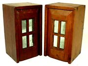 Pair- Document Boxes Ditty Box Slide Lid Walnut Pine Cape Cod Ma 7