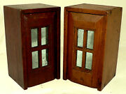 Pair- Document Boxes, Ditty Box, Slide Lid, Walnut, Pine, Cape Cod, Ma, 7