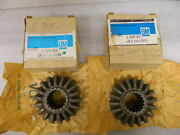 Nos Differential Side Gears 1946-63 3/4 And 1 Ton Chevrolet Pickup Truck 18 Teeth