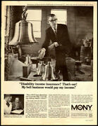 1968 Vintage Ad For Mony Insurance -1332