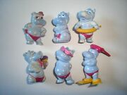 Kinder Surprise Set - Happy Hipppos Beach 1988 Blue Variations All Accessories
