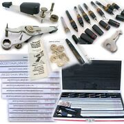 Koh-i-noor 3000 Rapidograph Scriber Engineering Drafting Drawing Lettering Guide