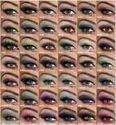 Mix Match Lot 36 Pairs Of Genuine Red Cherry Human Hair False Eye Lashes