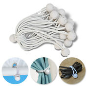 50 100pc Ball Bungees Cord Tarp Party Tent Tie Downs Bungee Canopy Gazebo Strap