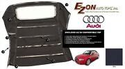 E-z On Audi A4 Convertible Soft Top And Glass Window Black German Canvas Cloth