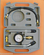 Professional Compression Tester 5pce Ideal For Holden Ford V8 Engines Tande Tools