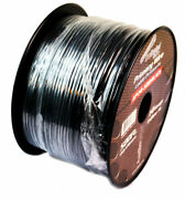 Audiopipe 14 Gauge 500 Feet Black Car Audio Primary Power Cable Remote Wire