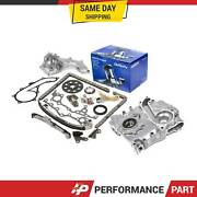 Timing Chain Kit Cover Water Oil Pump 94-04 Toyota 2.7 T100 Tacoma 4runner 3rzfe