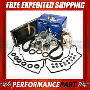 Timing Belt Kit Water Pump W/o Pipe Valve Cover Gasket 96-04 Toyota 3.4l 5vzfe