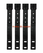 4x Tactical Tailor Molle Short Black Malice Clips, Kydex Holster Owb Belt Loops
