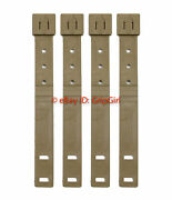 4x Tactical Tailor Molle Short Coyote Malice Clips, Kydex Holster Belt Loops New