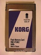 Korg Flash Memory Card 64 Mb 4x16mb 4 In 1 For Korg Pa80 New Design High Quality