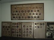 First Apollo Landing 1969 Patches On Wood