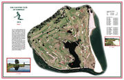 Country Club Of Fairfield-1914-macdonald/raynor- Vintage Golf Course Maps Print