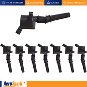 Set Of 8 Ignition Coil For Ford F150-f550 Mustang Excursion Marquis Dg508