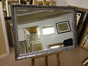 Buy Direct - Stunning 59mm Ornate Silver Framed Wall And Overmantle Mirrors
