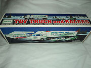 Hess Toy Truck And Racers 1997 Mint Condition Nib
